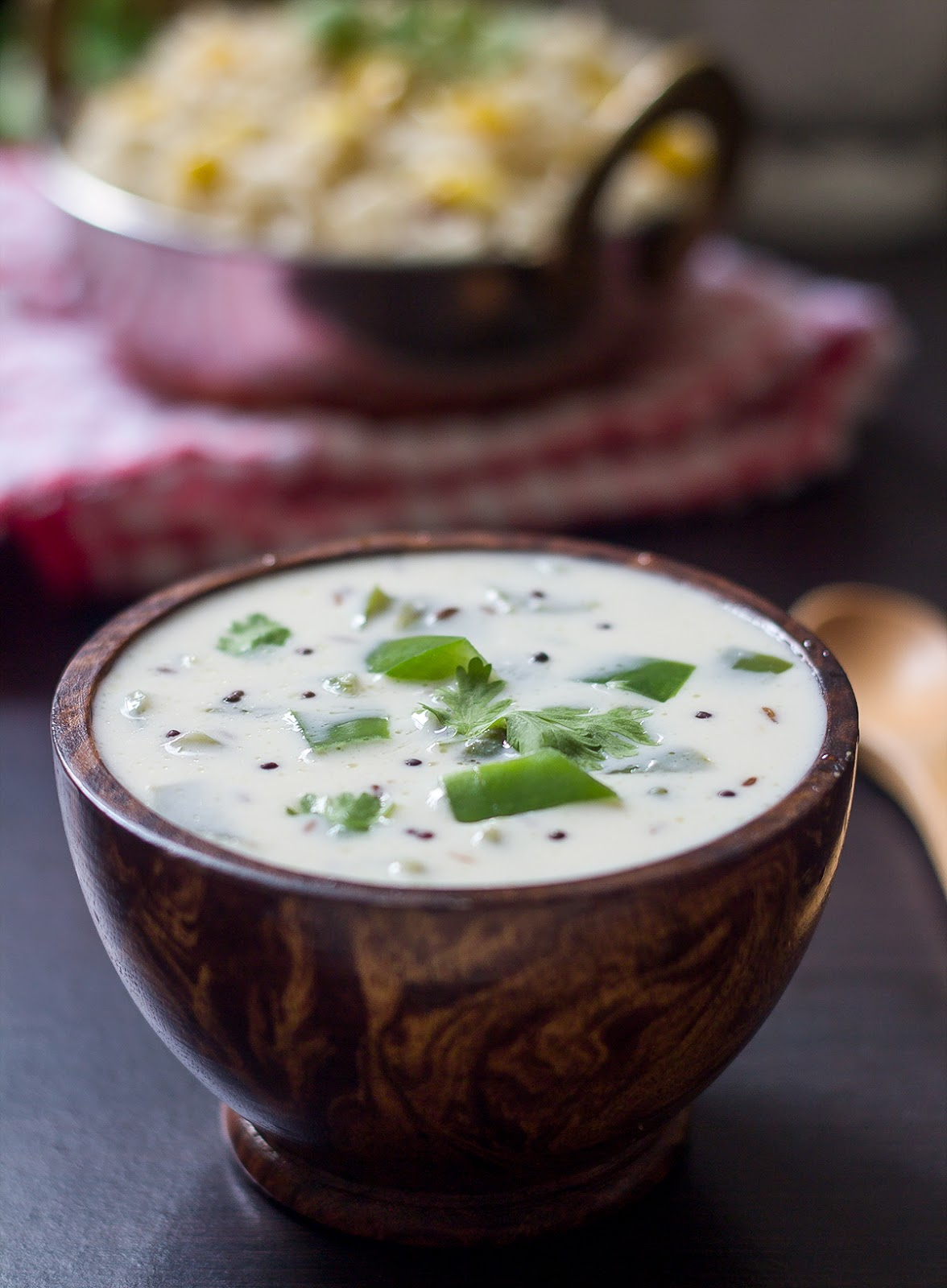 What a great way to use Cucumbers!  Raita!!